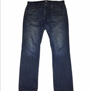 Seven 7 For All Mankind Straight Leg Jeans Sz 34